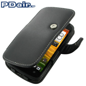 PDair Leather Book Case - HTC One S