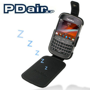 PDair Leather Flip Case - BlackBerry Bold 9900