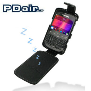 PDair Leather Flip Case - BlackBerry Curve 9360