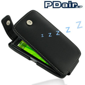 PDair Leather Flip Case - BlackBerry Torch 9860