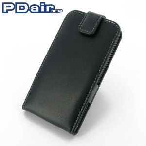 PDair Leather Flip Top Samsung Galaxy S5 Case - Black