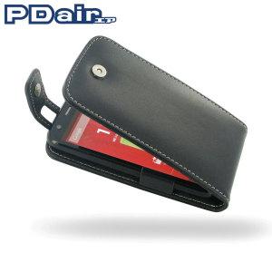 PDair Leather Flip Top Type Motorola Moto G Case - Black