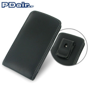 PDair Vertical Leather Pouch Case with Belt Clip - Nexus 5