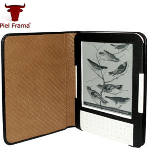 Piel Frama Case For Amazon Kindle Keyboard - Black