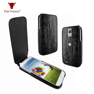 Piel Frama iMagnum Crocodile Case For Samsung Galaxy S4 - Black