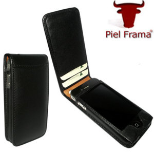 Piel Frama Magnetic Case For iPhone 4 - Black