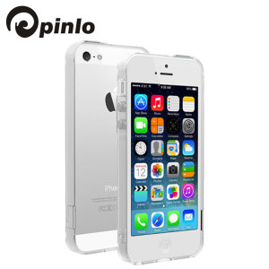 Pinlo BLADEdge Bumper Case for iPhone 5S / 5 - Transparent