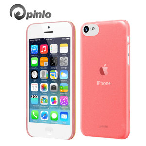 Pinlo Slice 3 Case for iPhone 5C - Red Transparent