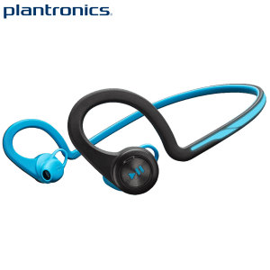Plantronics BackBeat FIT Wireless Bluetooth Headphones - Blue