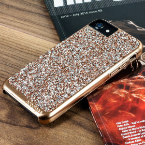 Prodigee Fancee iPhone 7 Glitter Case - Rose Gold