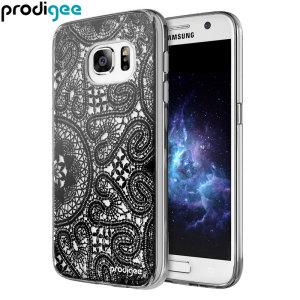 Prodigee Scene Galaxy S7 Case - Black Lace