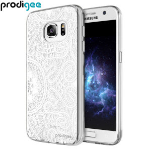 Prodigee Scene Galaxy S7 Case - White Lace