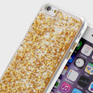 Prodigee Scene Treasure iPhone 6S / 6 Case - Gold Sparkle