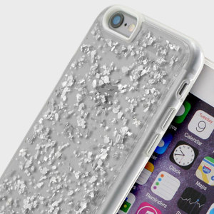 Prodigee Scene Treasure iPhone 6S Plus / 6 Plus Case - Silver Sparkle