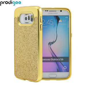 Prodigee Sparkle Fusion Samsung Galaxy S6 Glitter Case - Gold