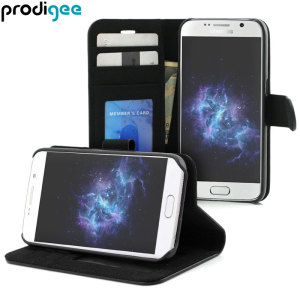 Prodigee Wallegee Samsung Galaxy S7 Wallet Case - Black