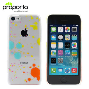 Proporta 96 Hard Shell for Apple iPhone 5C - Paint Splatter