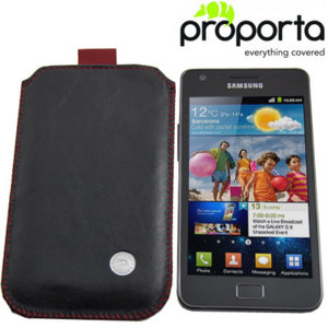 Proporta Alu Leather Slip Pouch For Samsung Galaxy S2