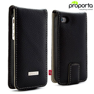 Proporta Leather Case with Aluminium Lining for iPhone 4S / 4