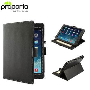 Proporta Leather Style Folio iPad Mini 3 / 2 / 1 Case - Black