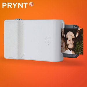 Prynt iPhone 7 / 6S / 6 Instant Photo Printer Case - White