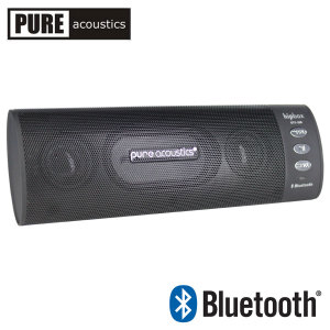 Pure Acoustics Hipbox GTX-20B Portable Bluetooth Speaker - Black