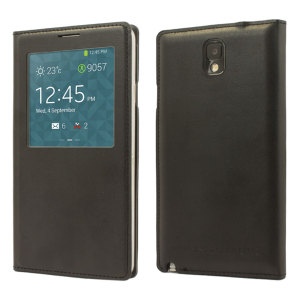 Qi Charging Case with S-View for Samsung Galaxy Note 3