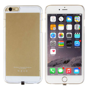 Qi Charging iPhone 6 Plus Case - Gold