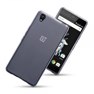 Qubits OnePlus X Gel Case - Smoke Black