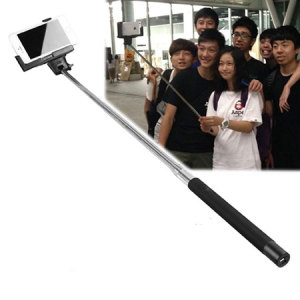 Quick Selfie Pole with Shutter Button for iPhone