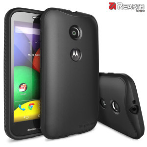 Rearth Ringke Flex Moto E Bumper Case - Black