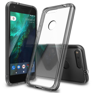 Rearth Ringke Fusion Google Pixel XL Case - Smoke Black