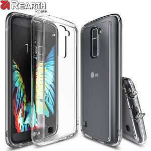 Rearth Ringke Fusion LG K10 Case - Crystal