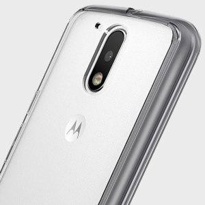 Rearth Ringke Fusion Motorola Moto G4 Fusion Case - Smoke Black