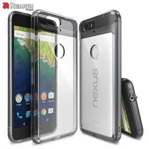 Rearth Ringke Fusion Nexus 6P Case - Smoke Black