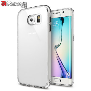Rearth Ringke Fusion Samsung Galaxy S6 Edge Case - Crystal Clear