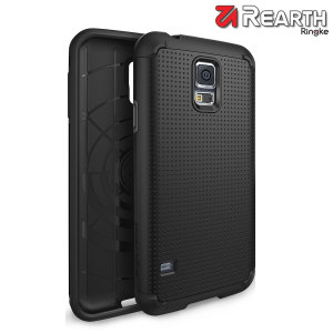 Rearth Ringke Samsung Galaxy S5 Heavy Duty Armor Case - Black