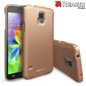 Rearth Ringke Slim Samsung Galaxy S5 Case - Gold