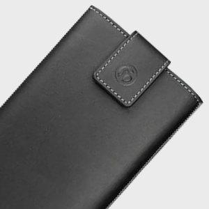 Redneck Genuine Leather Universal Smartphone Pouch L - Black