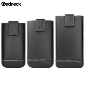 Redneck Genuine Leather Universal Smartphone Pouch XXXL - Black