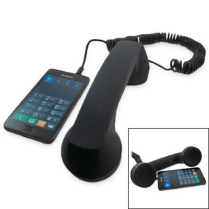 Retro Phone Hands-free Kit - Black
