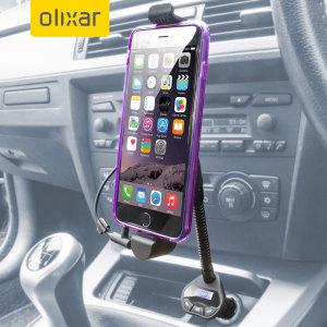 RoadWarrior iPhone 6 / 6 Plus Car Holder, Charger & FM Transmitter