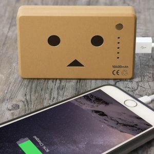 Robot Head Power Bank Portable Charger 10,050mAh - Mocha Brown