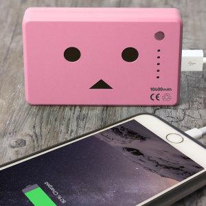 Robot Head Power Bank Portable Charger 10,050mAh - Pink