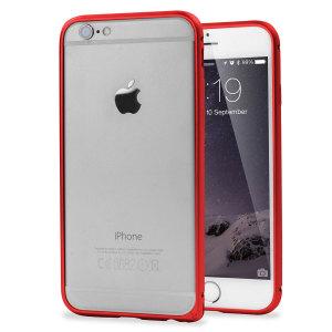 ROCK Arc Slim Guard iPhone 6S / 6 Aluminium Bumper Case - Red