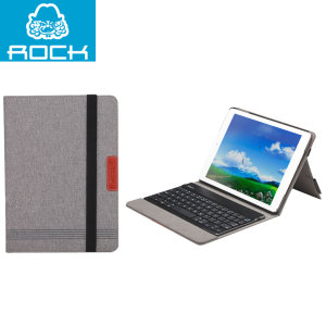 Rock Bluetooth Keyboard Case for iPad Air - Grey