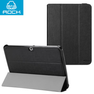 Rock Flexible Series Samsung Galaxy Tab 3 10.1 Case - Black