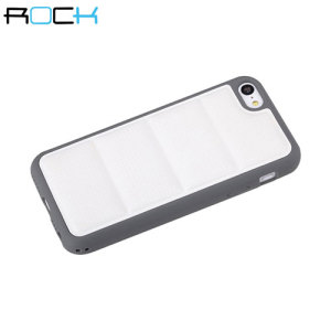 ROCK Pillow iPhone 5C Protective Case - White / Grey
