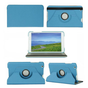 Rotating LG G Pad 8.3 Stand Case - Blue