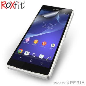 Roxfit 2 Pack Anti-Fingerprint Screen Protector for Sony Xperia Z2